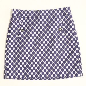 ⚡️$5⚡️LOFT | Two-Tone Purple Skirt with Pockets